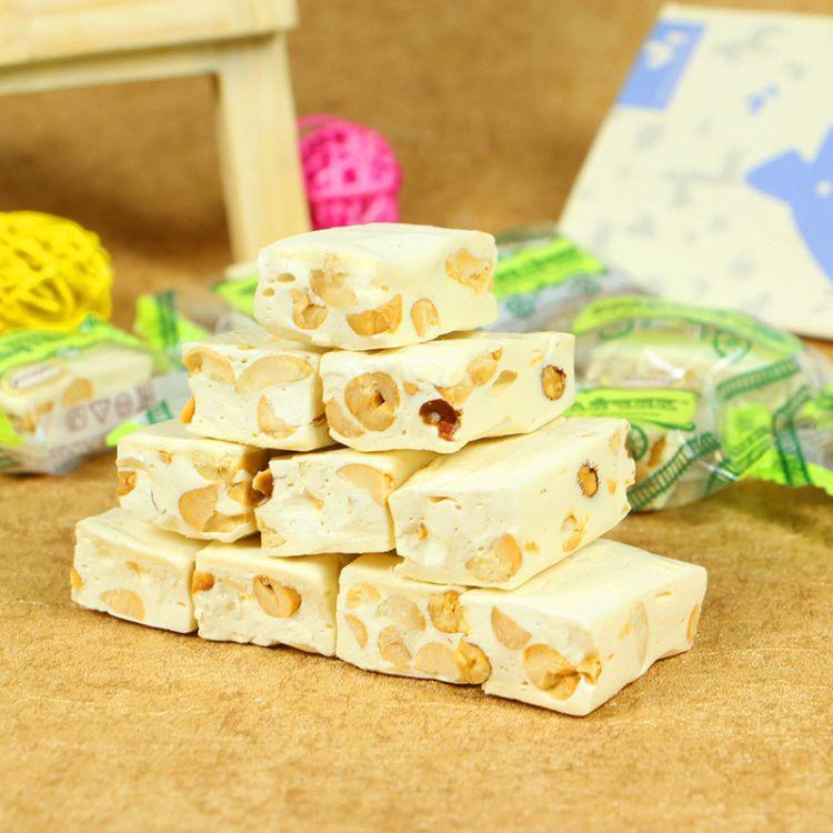 俄罗斯进口牛轧糖 阿孔特花生牛轧糖花生牛奶软糖3kg整箱一件代发