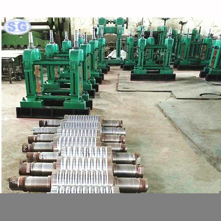 新型轧钢机生产线 粗轧机 三辊精轧机 定制冷热轧钢机 大型轧钢机