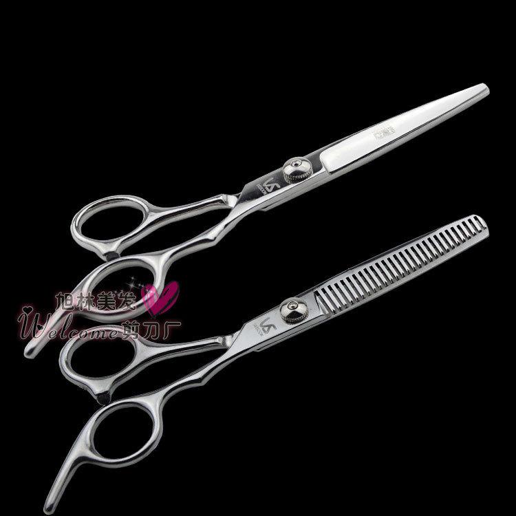 scissors斜尾经典美发剪刀专业理发剪刀厂供应批发定制优质练功剪