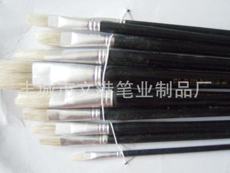 厂家供应批发油画笔 食品刷彩绘笔 直销毛笔