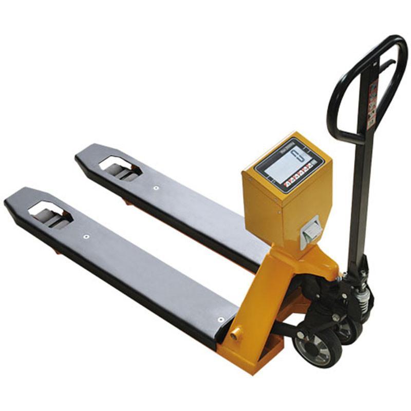 供应 不锈钢电子叉车秤 称重叉车 手动液压叉车 叉车磅