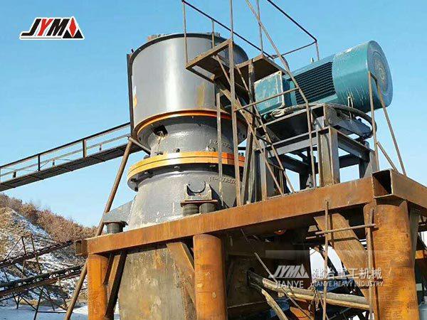 单缸液压圆锥破破碎机|一小时500吨的单缸液压圆锥破