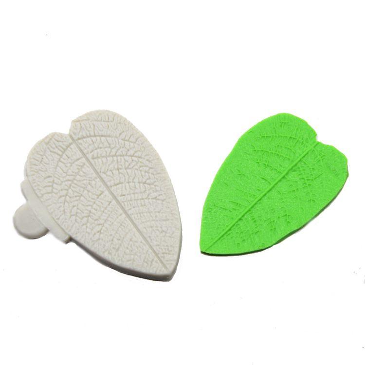 翻糖模具diy叶子树叶硅胶模具烘焙欧式蛋糕装饰巧克力模具