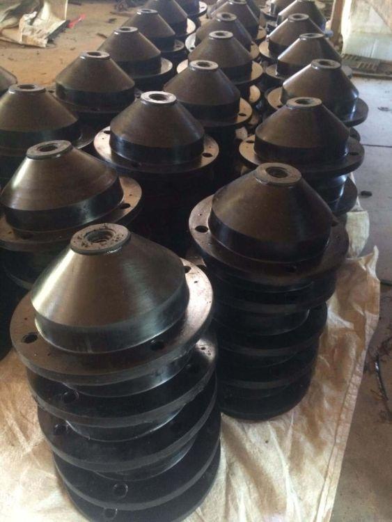 厂家直销 天然橡胶 圆形减震器 中空圆锥体橡胶