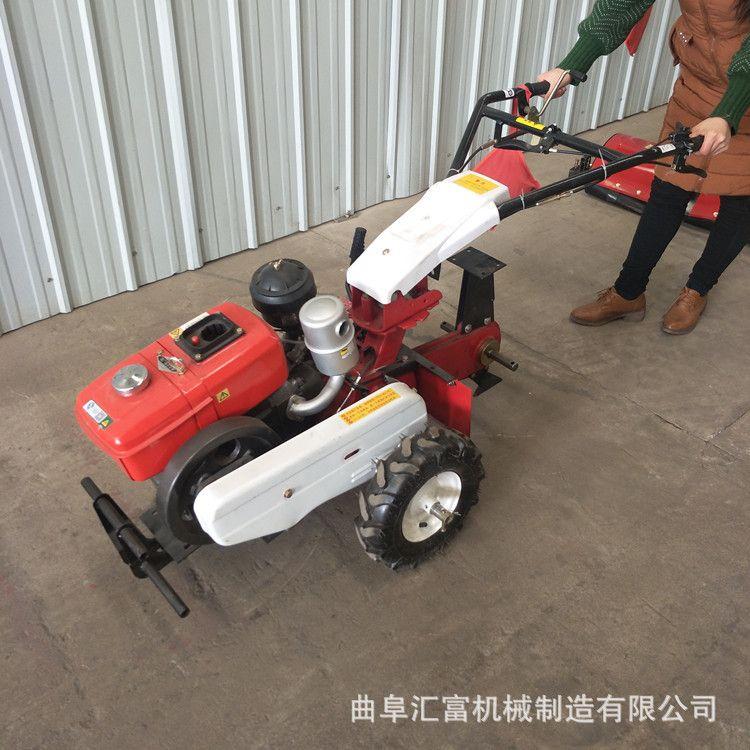 多种工具的手扶田园管理机 多功能手扶微耕机 果园旋耕机 松土机