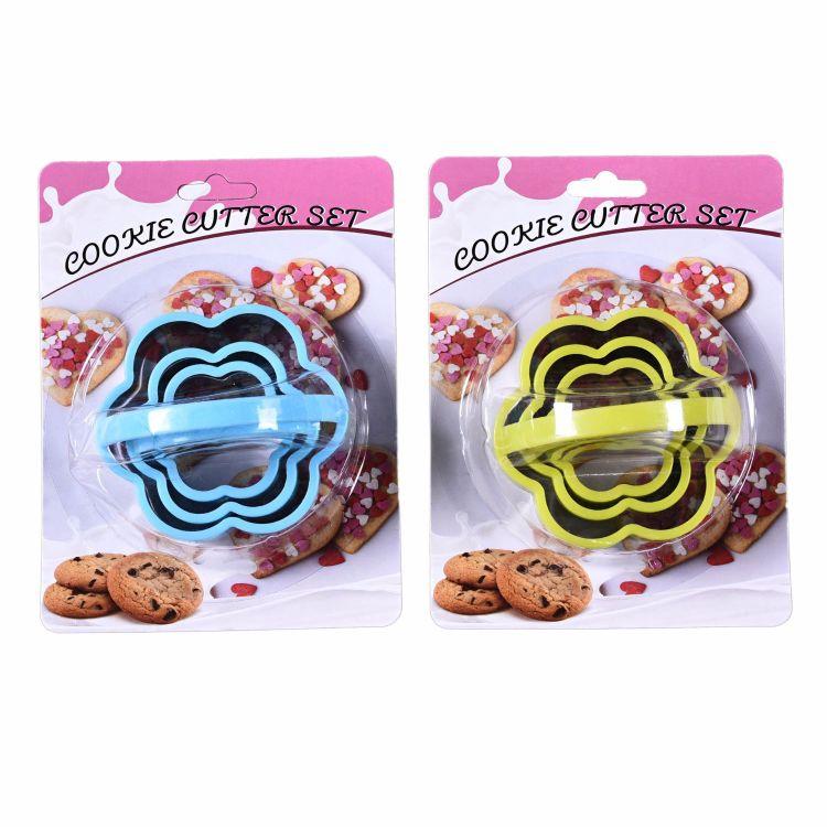 不锈钢饼干切花模具手工卡通梅花花型 模具面点模饼干造型器批发
