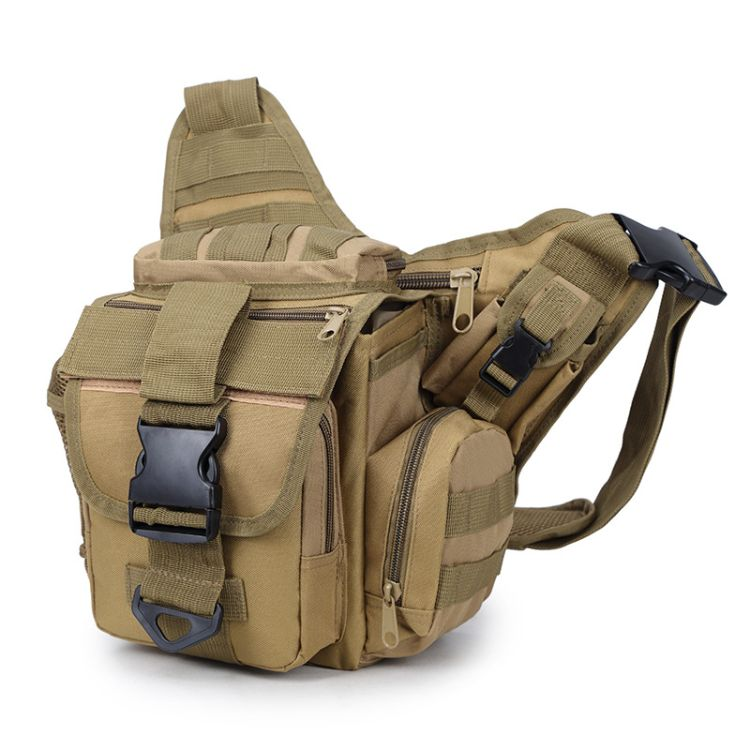 军盛户外摄影腰包带肩带战术包外贸户外休闲运动腰包鞍包厂家直销