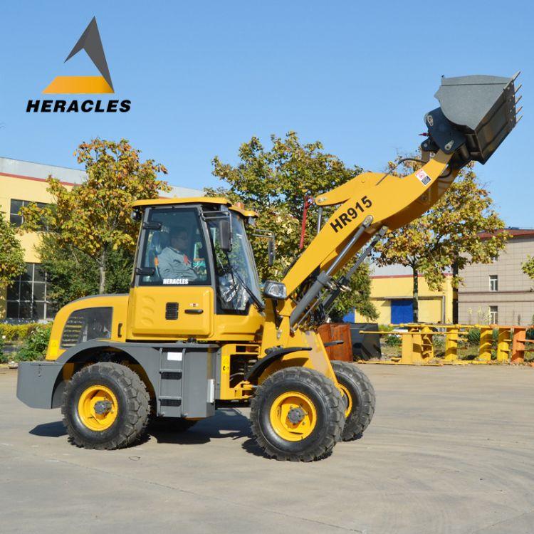 装载机工程用小型装载机四驱动力小铲车全新 欧款定制机型