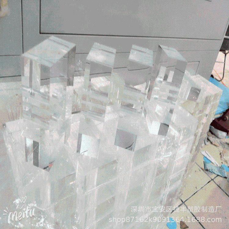 亚克力板 60mm 亚克力厚板 亚克力透明板  亚克力板材