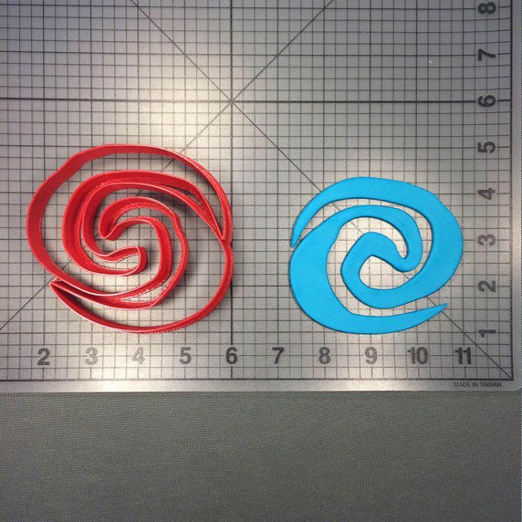 海洋奇缘小蜗翻糖蛋糕装饰工具烘焙模具饼干曲奇工具卡通馒头模具