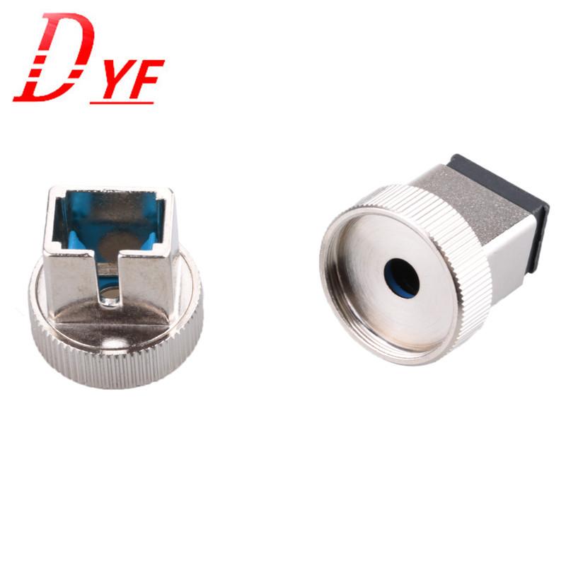 光功率计 SC转接头 光功接头SC 光纤配件 SC转换头 金属配件 1个