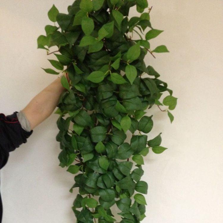 仿真绿萝藤条 管道装饰长藤植物植物墙装饰壁挂藤条藤蔓仿真植物