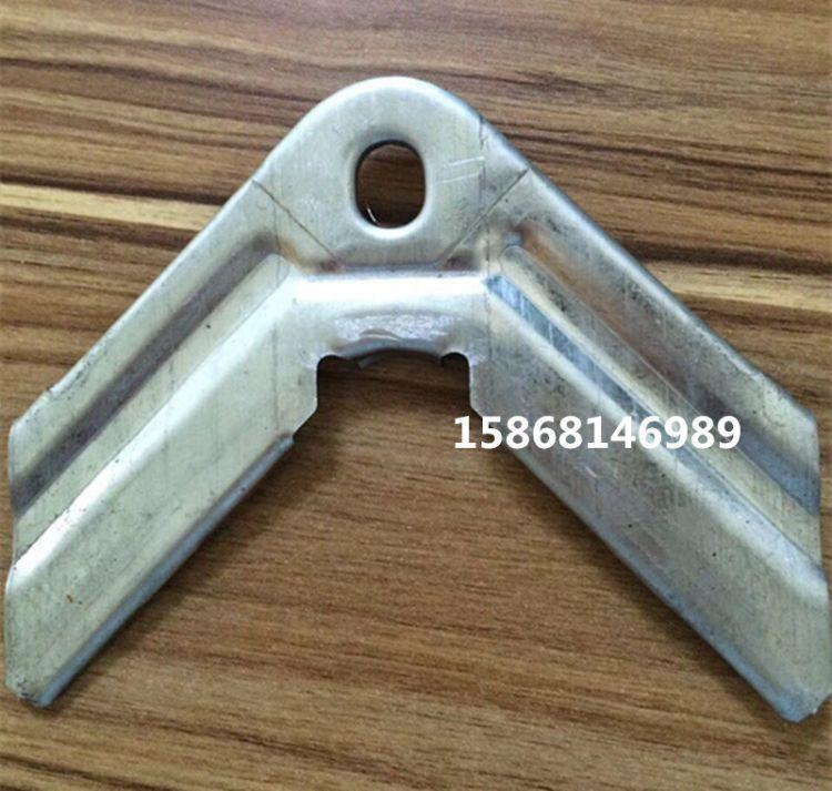 厂家直销共板风管角码空调管卡扣阀角码角码连接件镀锌角码0.8MM