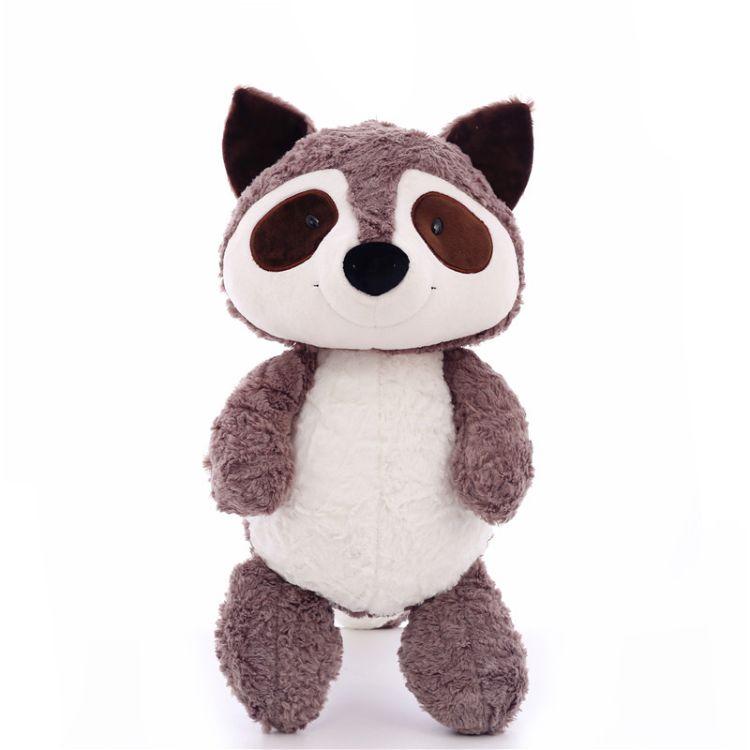 厂家新款玩具小浣熊毛绒公仔可爱仿真考拉创意儿童生日礼品批发