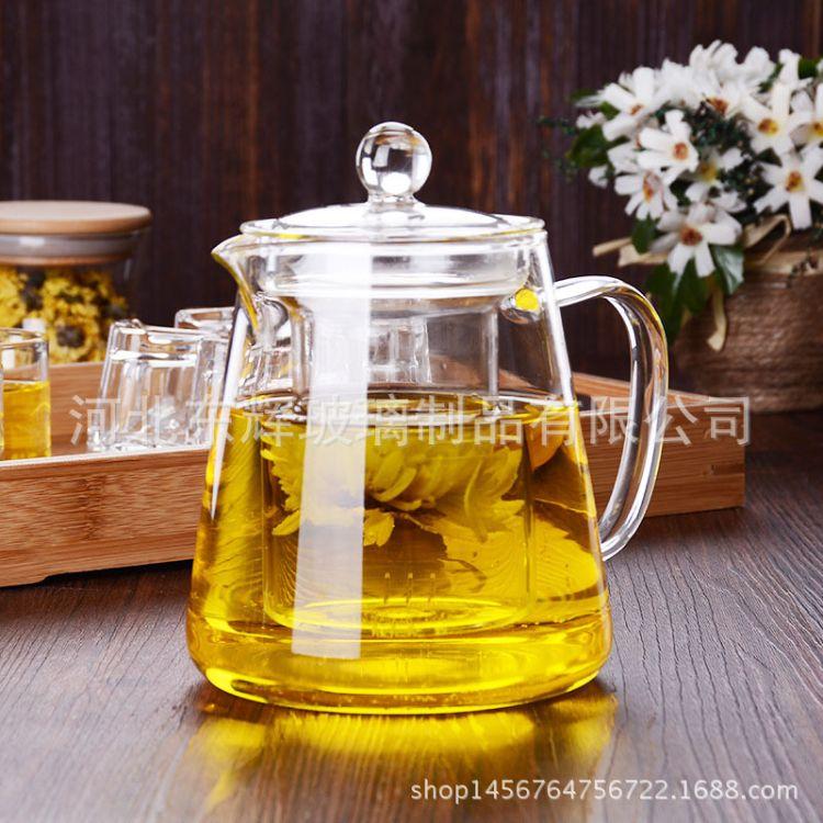玻璃壶耐热玻璃茶具玻璃过滤内胆泡茶壶冲茶器 泡茶器加厚