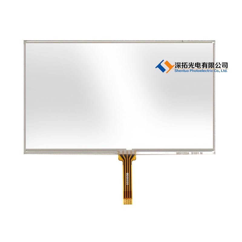 厂家直销 5寸电阻触摸屏 高品质工业触摸屏 电阻屏 支持来样定制