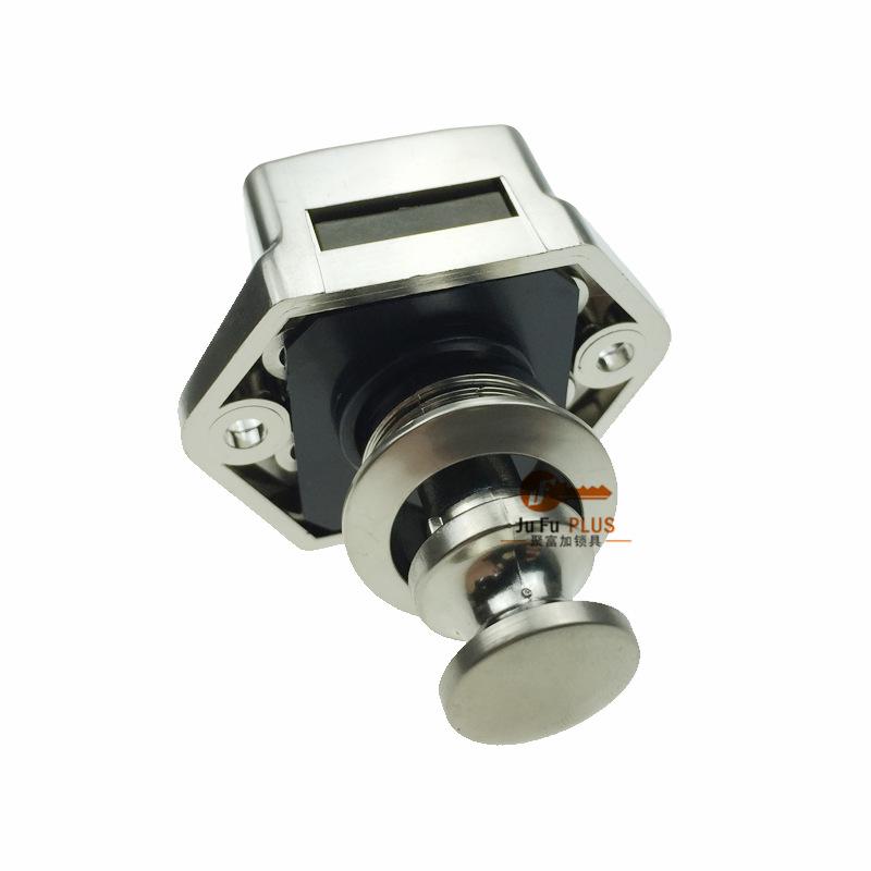 交通运输工具柜锁 迷你型弹跳锁 旅行车备用箱锁批发价格JF5200