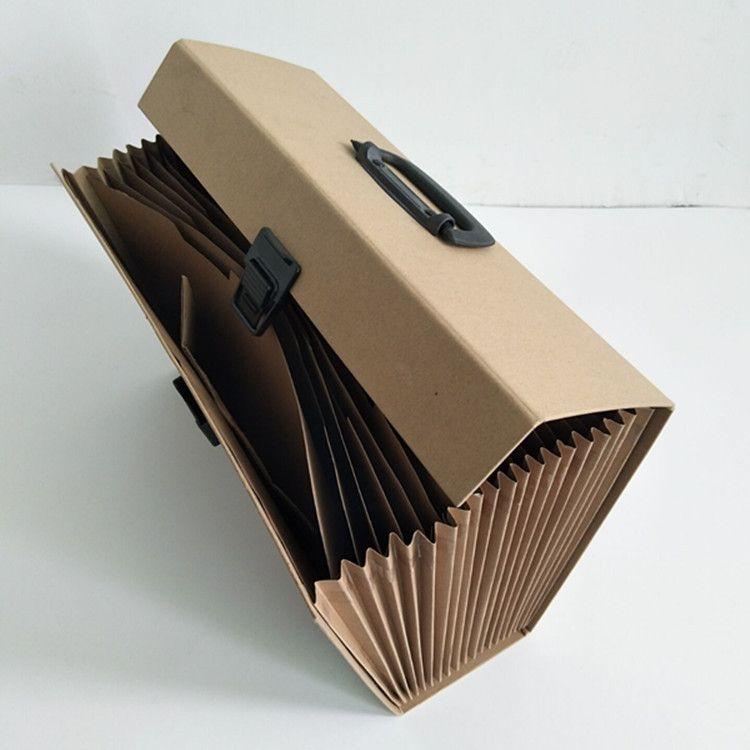 风琴包文件包文件夹风琴文件夹纸公文包风琴夹