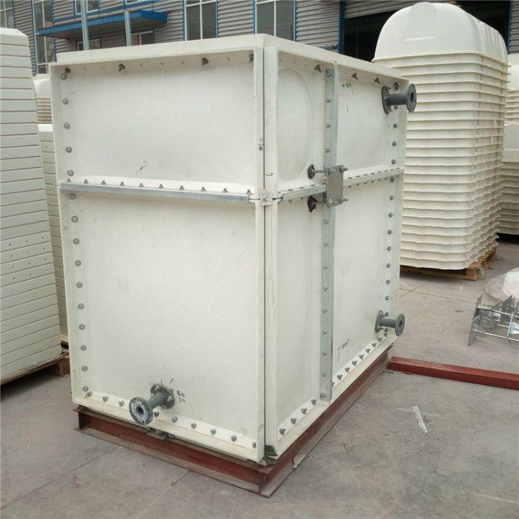 厂家现货玻璃钢水箱 玻璃钢消防水箱防腐蚀抗老化 方玻璃钢消防水箱