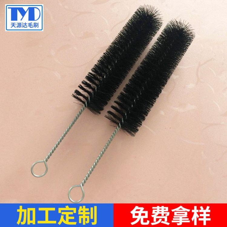 厂家直销毛刷厂家 尼龙丝毛刷 清洗管道刷工业毛刷 尺寸可定制