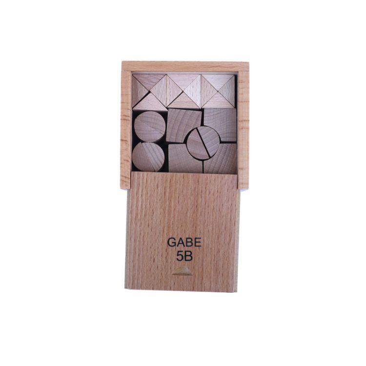 福禄贝尔教具GABE5B早教幼儿园3岁儿童以上木质 益智教具
