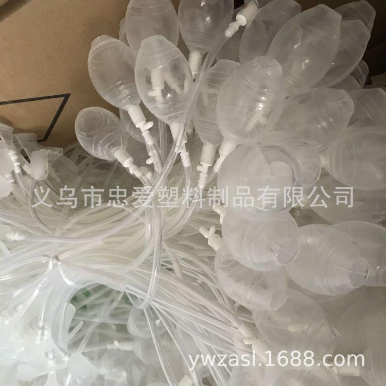 厂家直销PVC彩色管七彩波波球灯保护套管防水灯管套透明帽子灯管