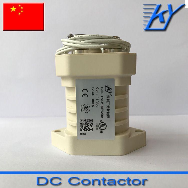 100A接触器 EVQ100E12DA 无极性接触器 高压直流接触器