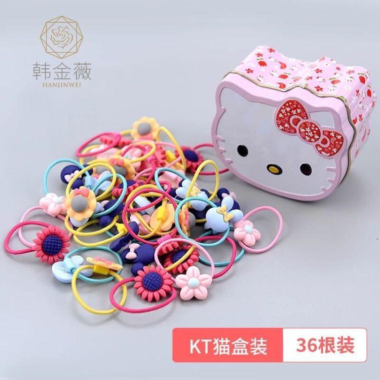 韓版女童發圈可愛皮筋頭繩兒童寶寶發繩女孩頭飾品頭飾發飾橡皮筋