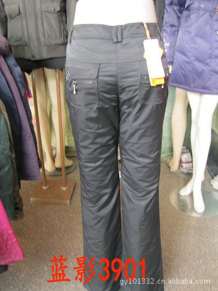 蓝影羽绒裤3901 2011新款 打底裤 热销 库存新款 保暖裤 裤