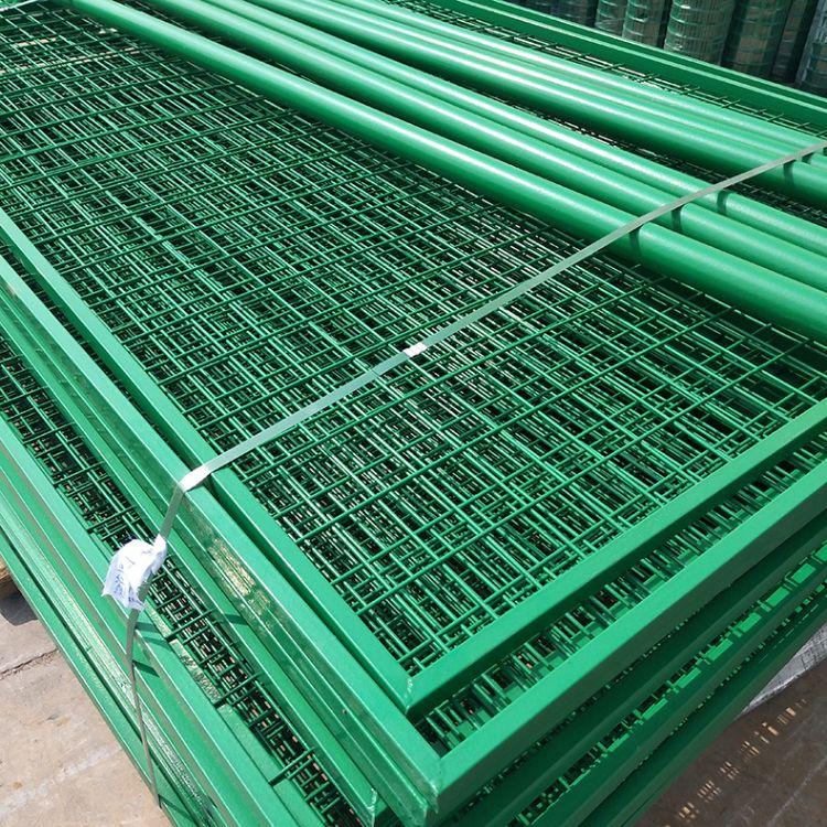 厂家直销隔离栅护栏网双边丝护栏网防护网浸塑铁丝网养殖场围网