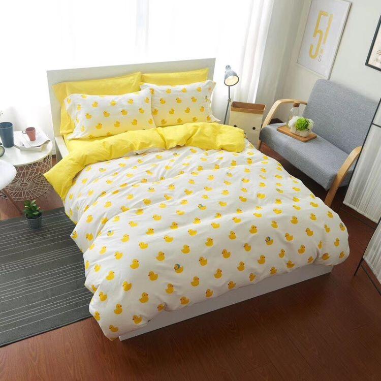 幅宽2.5米无荧光剂 纯棉贡缎布料床品diy新生儿宝宝床单被子面料