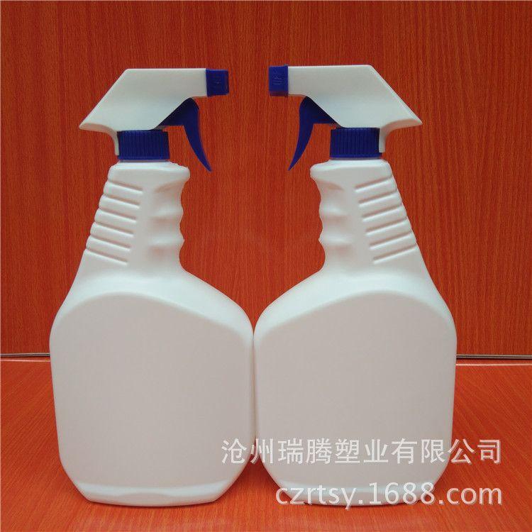 500ml塑料喷雾瓶油污净油烟净汽车清洗清洁剂包装1000ml白色现货