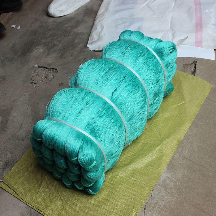 厂家直销聚乙烯渔网线大棚线供应海水色聚乙烯渔网绳撒网线渔网线