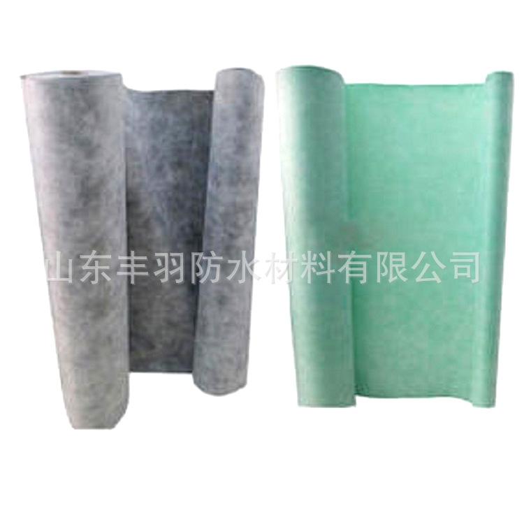 厂家直销 聚乙烯高分子丙纶防水材料 丙纶布防水卷材 pvc防水卷材