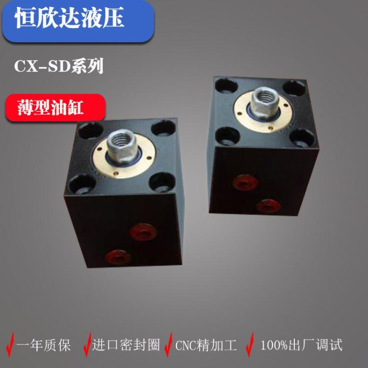 厂家直销 薄型液压油缸 CX系列油缸 SD径向安装 缸径20 来图定做