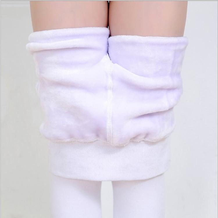 厂家批发儿童加绒加厚冬季舞蹈袜 学生考级专业白色芭蕾舞蹈袜