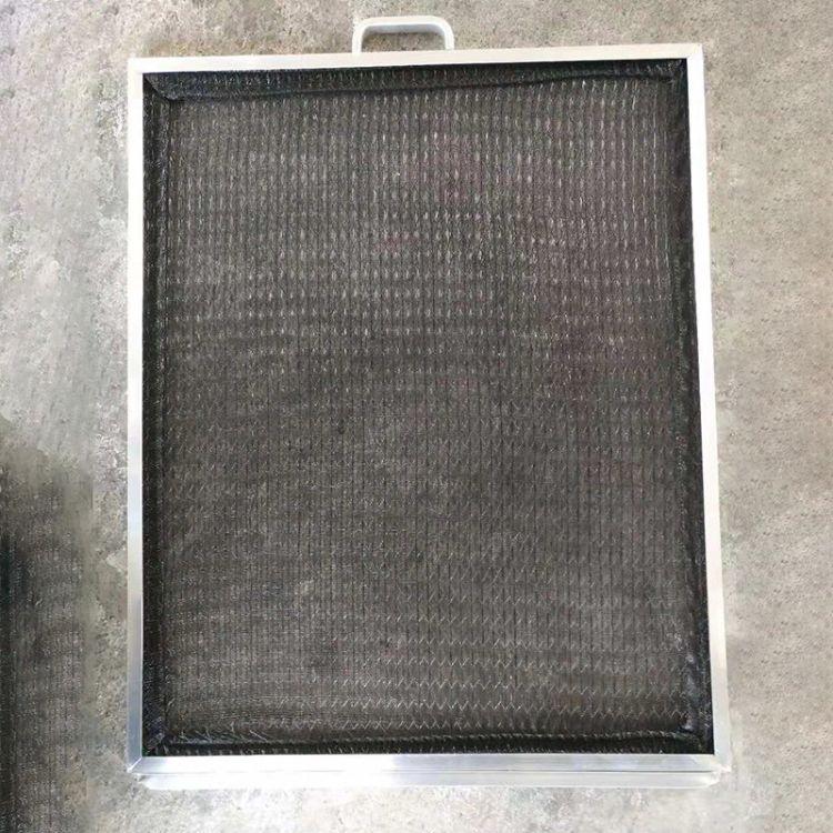 空调金属网初效过滤器空调过滤网空气过滤器全金属网板式过滤器