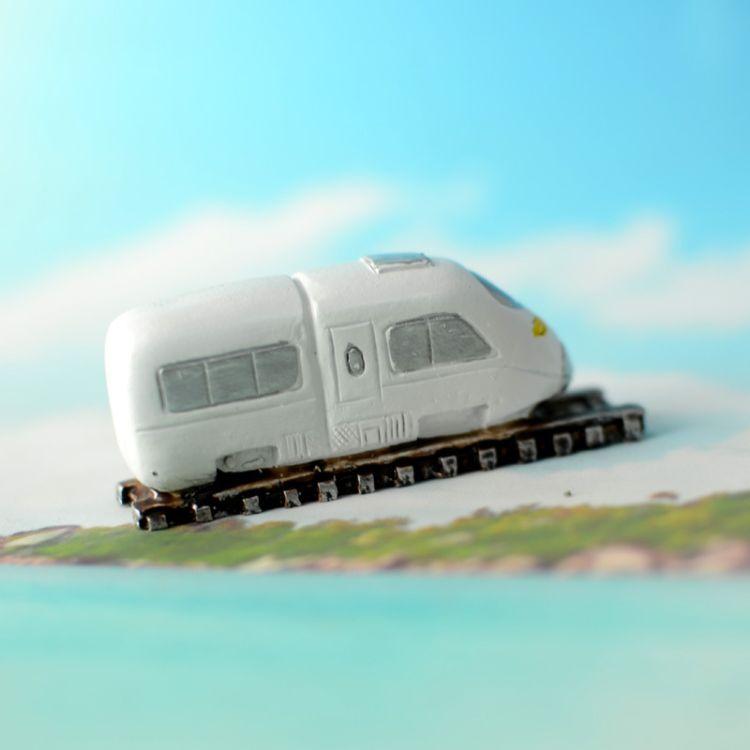 批发厂家新品心里沙盘沙具之交通工具之动车头 高铁车头  A-698