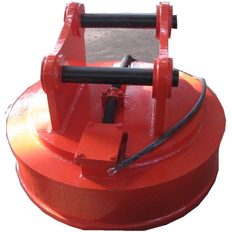 挖掘机电磁铁  挖掘机起重电磁铁 挖掘机两用电磁铁