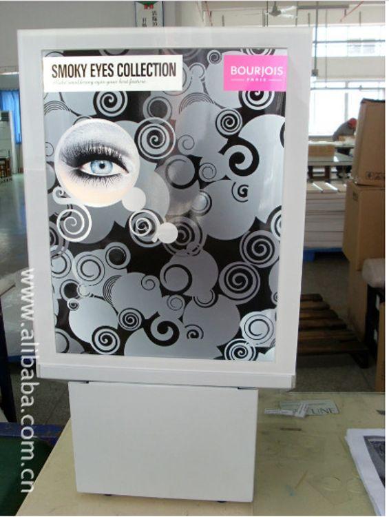 商场化妆品包包展示架产品样品展柜 有机玻璃展柜批发