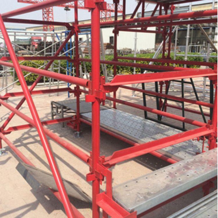 快装组合式 高墩桥梁施工安全爬梯  厂家直销