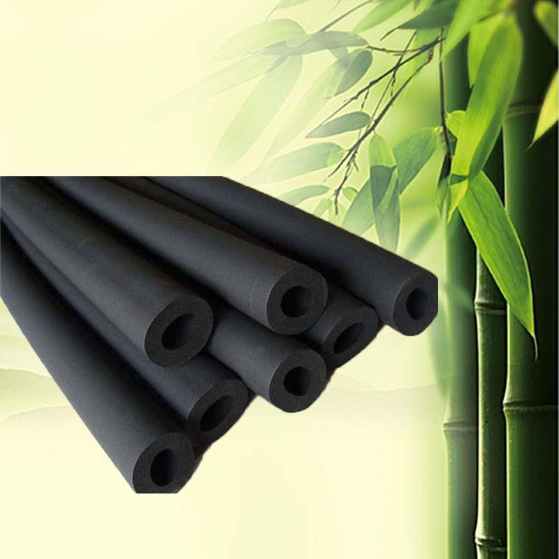 鑫达保温华阳B2级橡塑管水管保温管道优质橡塑保温管隔音水管保温