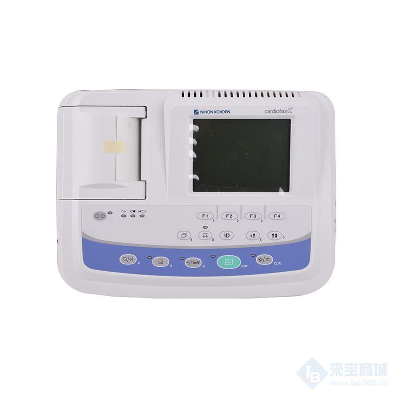 供应光电心电图机 上海光电日本光电12导联ECG-2150三道心电图机