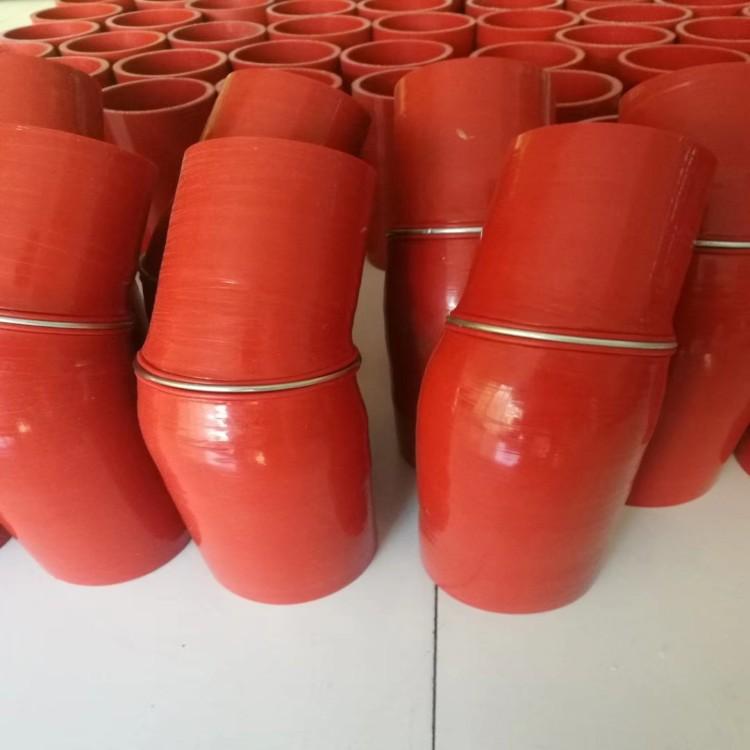 硅胶管增压管硅橡胶食品级硅胶管大口径耐高温橡胶软管夹布橡胶管