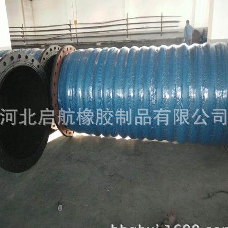 厂家推荐大口径排吸水胶管 新款大口径输水胶管 大口径夹布胶管