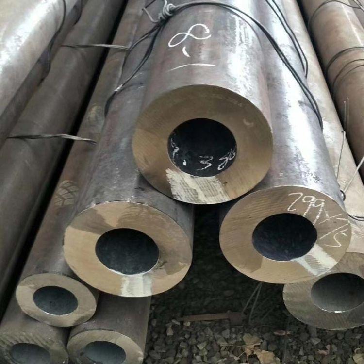 直销厚壁无缝钢管 27simn无缝钢管 油缸专用管 大量库存现货