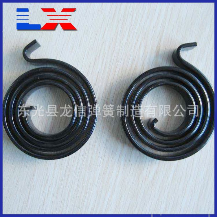 厂家生产涡卷弹簧发条弹簧  拉力弹簧 定做各类异形弹簧