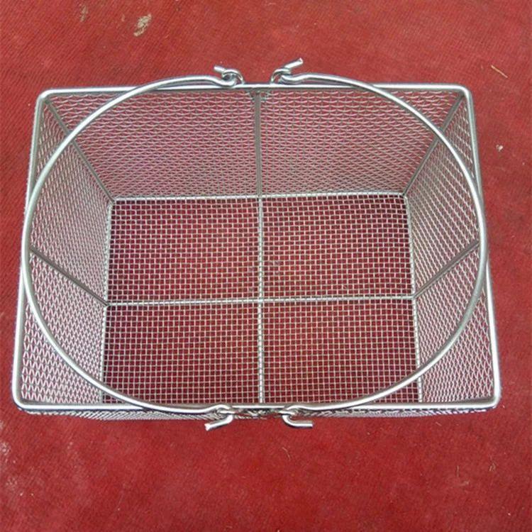 不锈钢网篮网筐 储物清洗网篮 医用网筐 304不锈钢烧烤油炸网篮