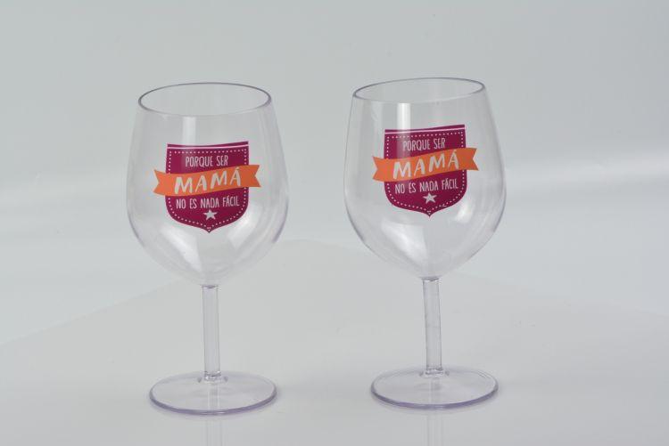 工厂直销 欧美品质 多色红酒杯 PS塑料酒杯