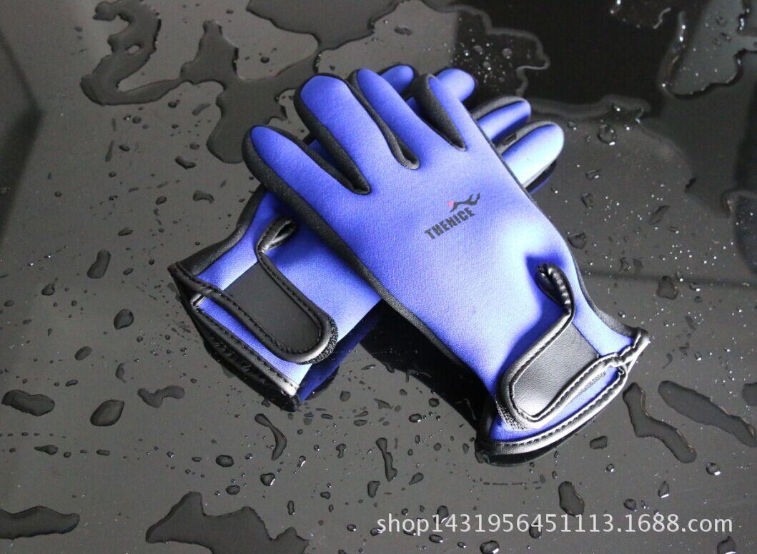THENICE批发潜水服 潜水手套 耐磨防滑 浮潜手套 冬泳手套 潜水袜